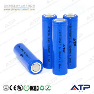 3.2V 1200mAh 18650 cell for lifepo4 48v battery pack