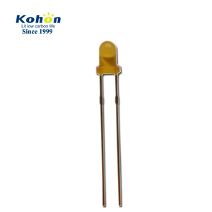 Diffused orange color highlight lamp 3mm mini LED diode component for indicator