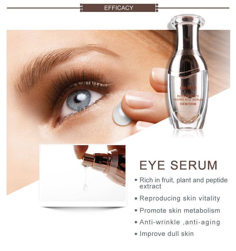 Private Label Skin Care Rosehip Anti Wrinkle Eye Serum