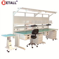 Detall dental laboratory furniture woodworker garage workshop work bench and tables for different labs