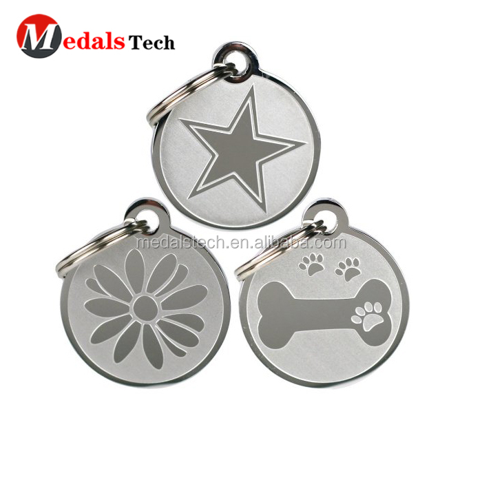 Promotional  OEM ODM common size aluminum anodizing black dog tags