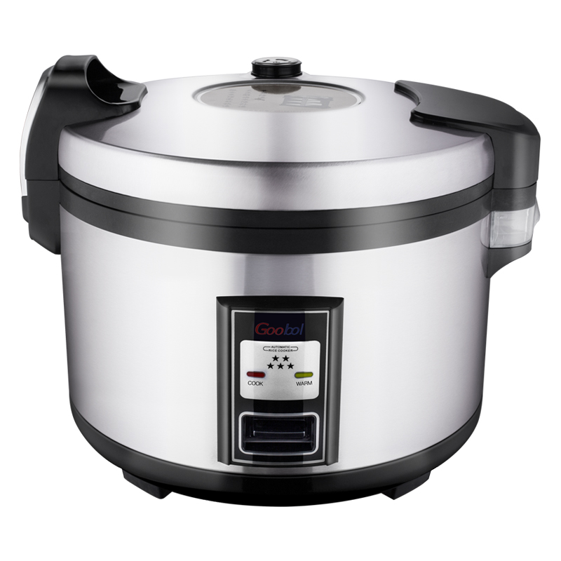 Goobol 5.5L 30 Cups <strong>Commercial</strong> Big <strong>Electric</strong> Deluxe Rice <strong>Cooker</strong> For 5kg rice