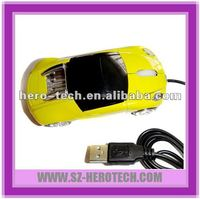 novelty pc mouse in car shape