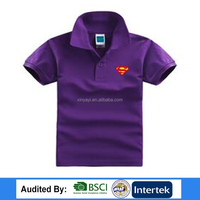 2017 Wholesale best quality factory price childrens clothing / short sleeve polo shirt