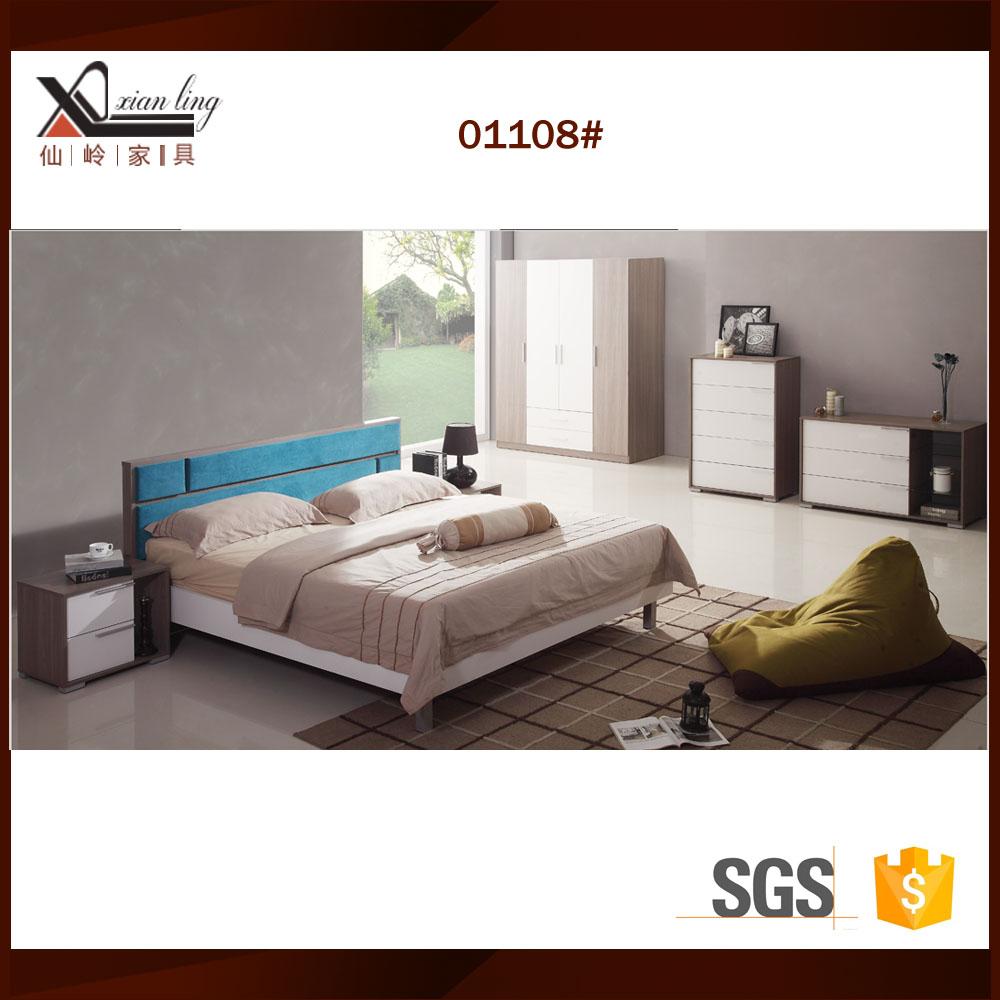 Moderne set bed kamer meubels voor de slaapkamer slaapkamer sets product id 60276634447 dutch - Modern bed volwassen ...