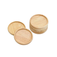 Wood Custom Holder Bamboo Coaster