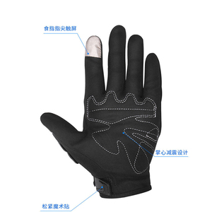 2017 newest popular top selling leather horse riding gloves