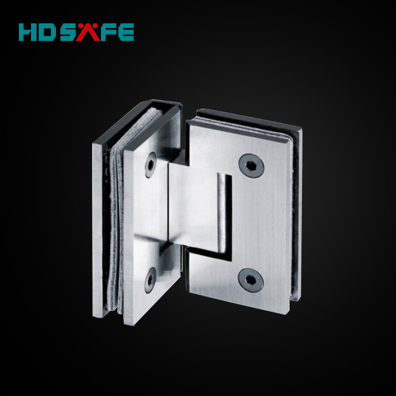 High quality stainless steel 90 degree glass shower door hinge