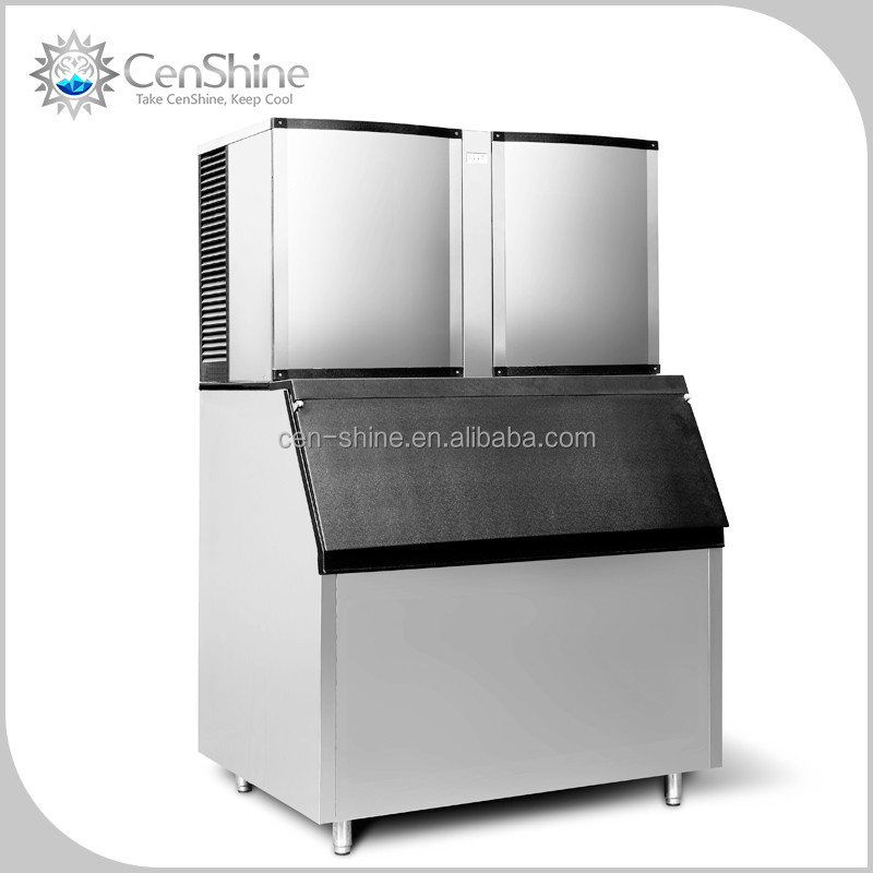 Most Durable Fully Automatic OMT Ice Machine With Nickel Evaporator To Ensure Clear Manufactured Ice