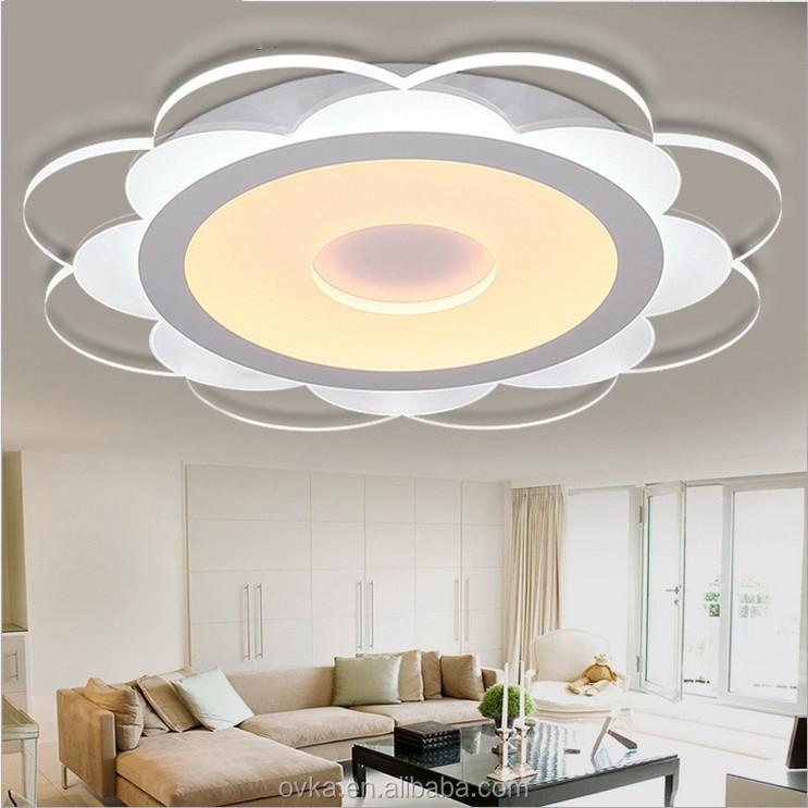 Schlank LED Deckenleuchten Schlafzimmer Modernen Minimalistischen Blumen  Kreative Atmosphäre Lampe Wohnzimmer Lampen Kinderzimmer