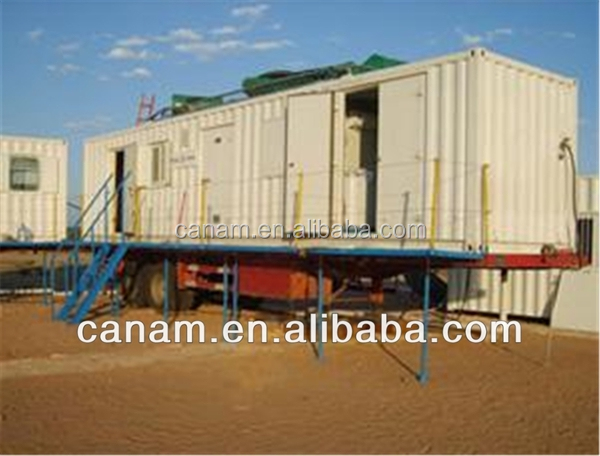 CANAM-prefab luxury elegant modified container house club