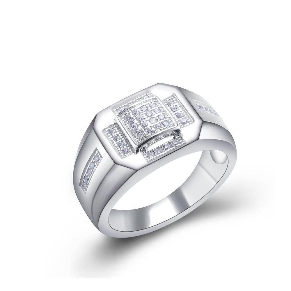 Simple Sterling Silver Wedding Engagement Diamond Ring For Man View Wedding Engagement Diamond Ring Ssfjewelry Product Details From Guangzhou Shining Star Jewelry Limited On Alibaba Com