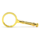 China manufacturer cheap custom x10 x5 handle industrial brass small magnifying glass