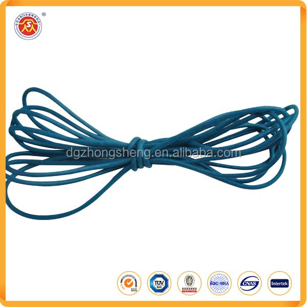 100% polyester round shoelaces round braided martin boots shoelace