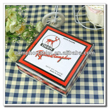 Top Selling Products Deer Brand 90% Pure Moth repellent Natural Camphor Tablet In Box