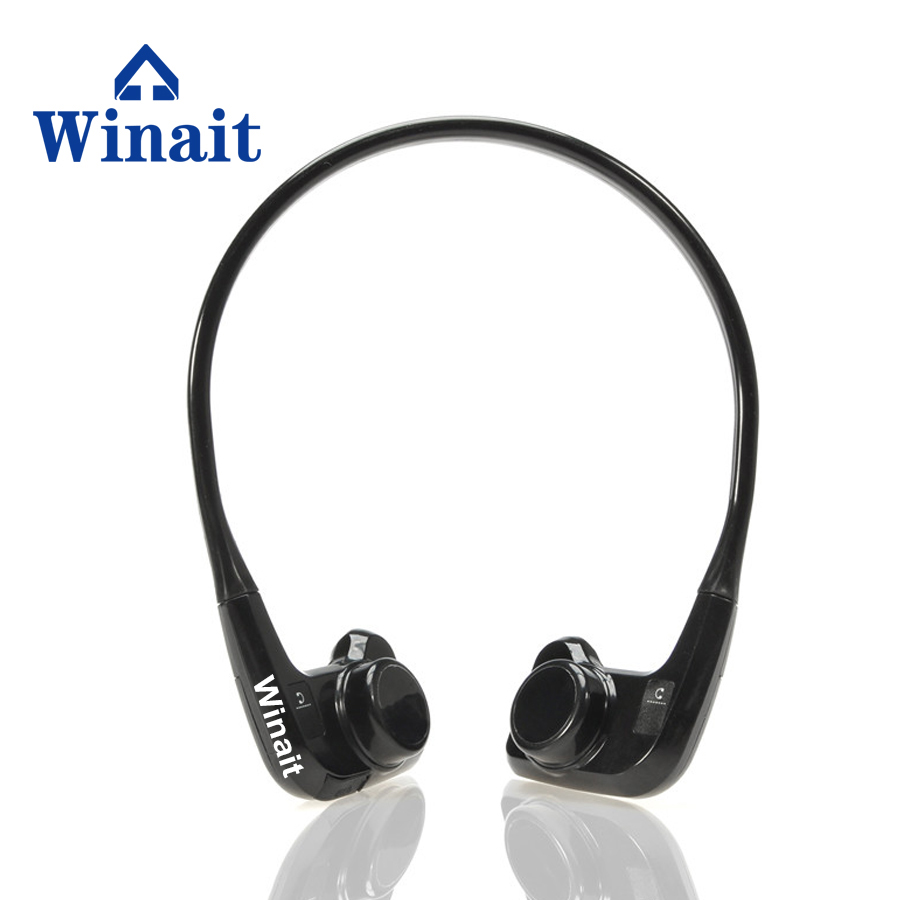 Winait small size Head-mounted IPX8 waterproof Bone Conduction mp3 player BH905