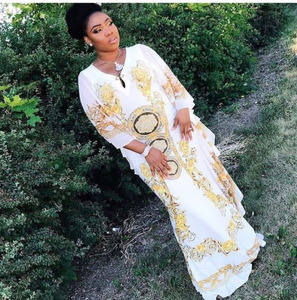 Fashion rhinestone african clothing women african kitenge dress designs picture
