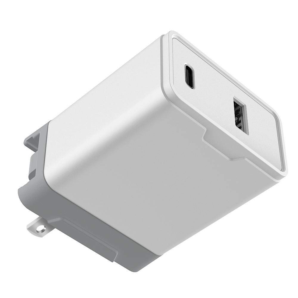 Mais novo PD 18 W 30 W Carga Rápida Tipo C Portas USB Parede Adaptador de Alimentação Carregador de Telefone Rápido USB-C Com EUA/REINO UNIDO/Plug UE