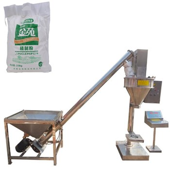 electric powder vertical rice flour filling machine powder packing machine price