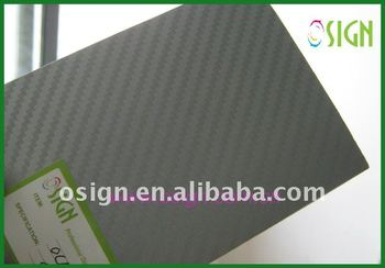 3D carbon fiber sticker