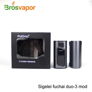 Hot Selling 2017 Original Sigelei Fuchai Duo 3 Mod New Products Sigelei Duo-3 Electronic Cigarette