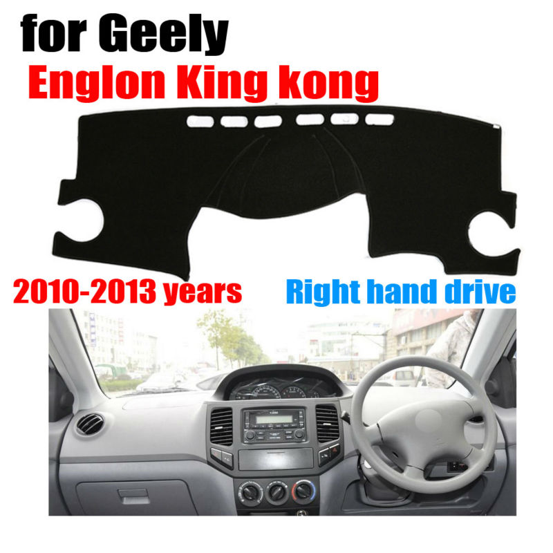 Car dashboard covers mat for Geely Englon king kong 2010-2013 Right hand drive dashmat pad dash cover auto dashboard accessories