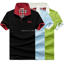 China Manufacturing Factory Price Polo Shirts Print /Embroidered /Applique pique polo t shirt