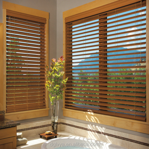 Paintable And Stainable Wooden Blinds, Paintable And