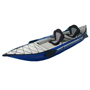 paddle kayak inflatable hypalon 2 person folding kayak inflatable boat