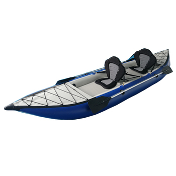 Paddle Kayak Inflatable Hypalon 2 Person Folding Kayak Inflatable Boat -  Buy Inflatable Kayak,Folding Kayak,Kayak Inflatable Boat Product on
