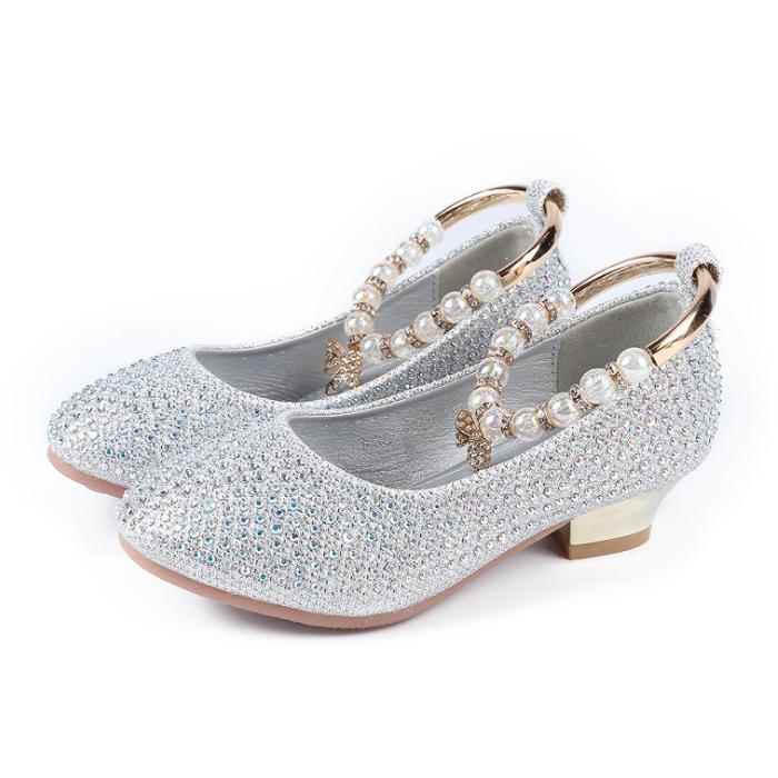 956c05d2eca1 YY10200S China factory hot sale gold princess shoes shine girls glitter  shoes new style korean kids high heel shoes