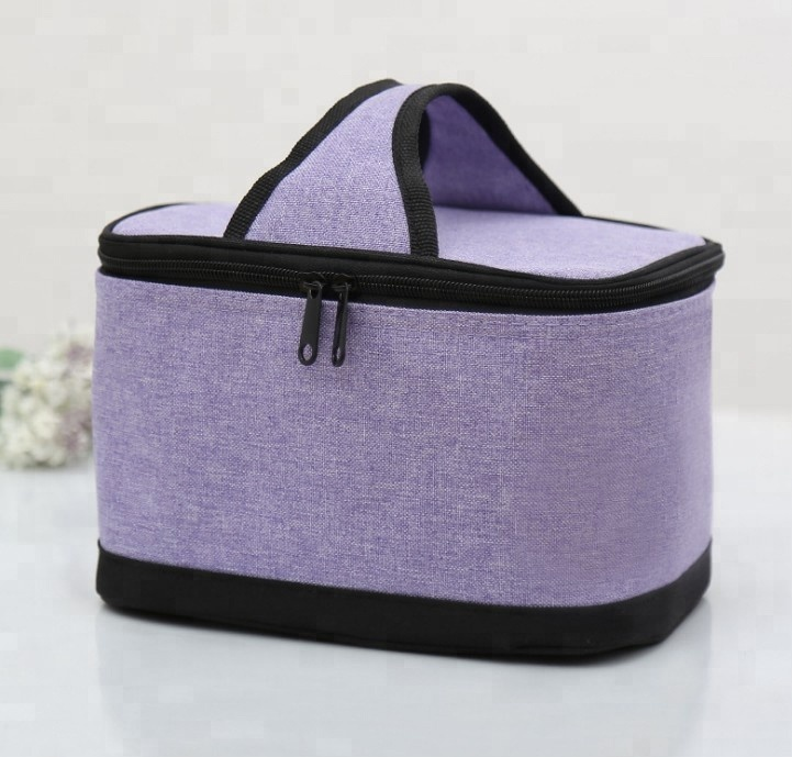Functional Cooler Lunch Box Portable Insulated Lunch Bag Thermal Food Picnic Lunch Bags For Women Kids