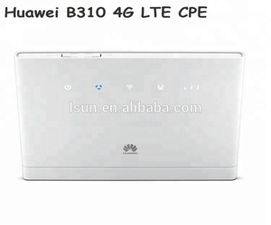 Huawei B310s-22 lte fdd 300mbps 4g cpe wifi router wifi gateway cat6 with  sim card slot unlocked home router