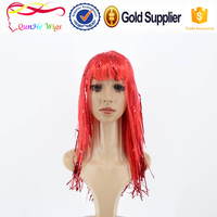 faux hair very long straight hair wig extensions costume hair pieces