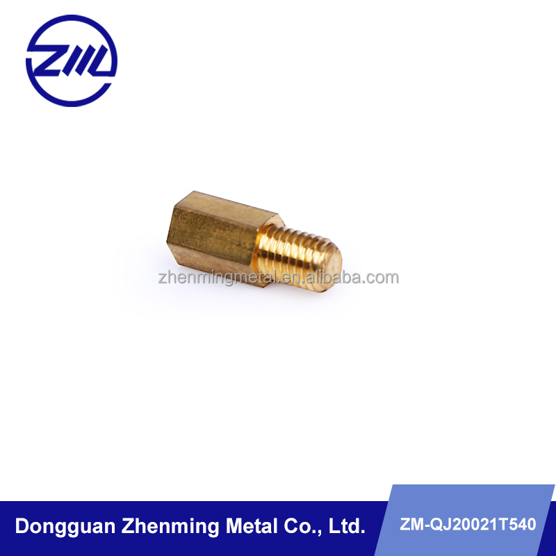 Manufacturer supply brass aviation parts cnc machined components