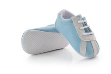 Baby toddler shoes polo infant shoes light blue baby casual shoes soft bottom antiskid baby first