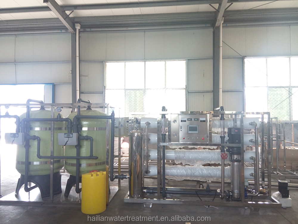 8000L/h borehole salty water treatment RO drinking water filter <strong>system</strong>