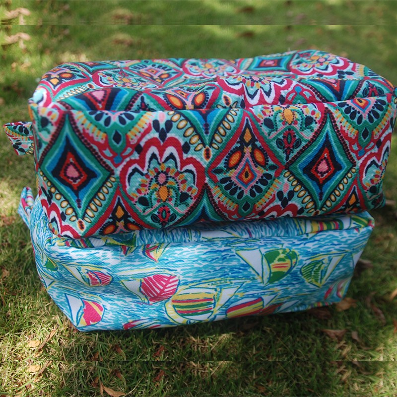 Whole Lilly Cosmetic Bags Pulitzer Makeup Poly Cotton Inspired Toiletry Dom 108342