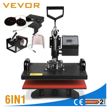 manual t shirt printing machine 6 In 1 Heat Press Machine