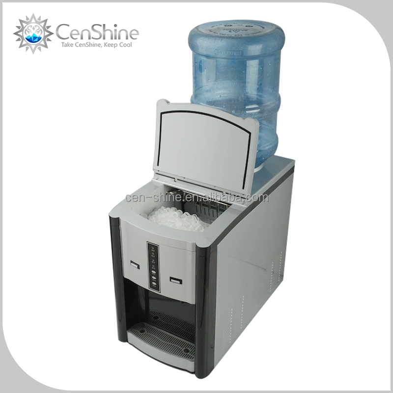 Fully Automatic Portable Ice Maker With Water Dispenser For Home Use
