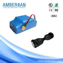 Factory direct sell cylinder battery china low price 12ah 30v lithium ion battery pack for e-blike