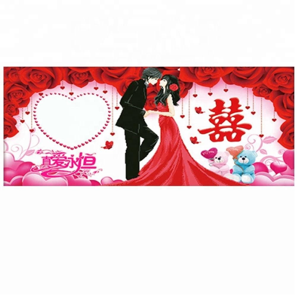 Diamond painting love embroidery couple diamond mosaic kiss
