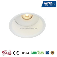 IP54 waterproof 7W dimmable led downlight