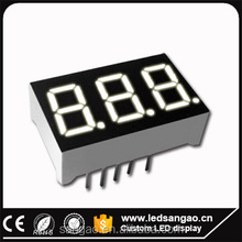 full color 3 digit 7segment display