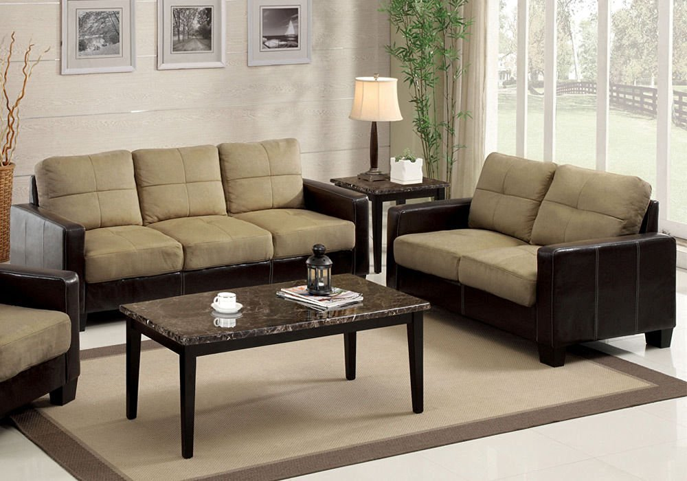 Fine Buy 1Perfectchoice Laverne Furniture Sofa Loveseat Chair Tan Andrewgaddart Wooden Chair Designs For Living Room Andrewgaddartcom