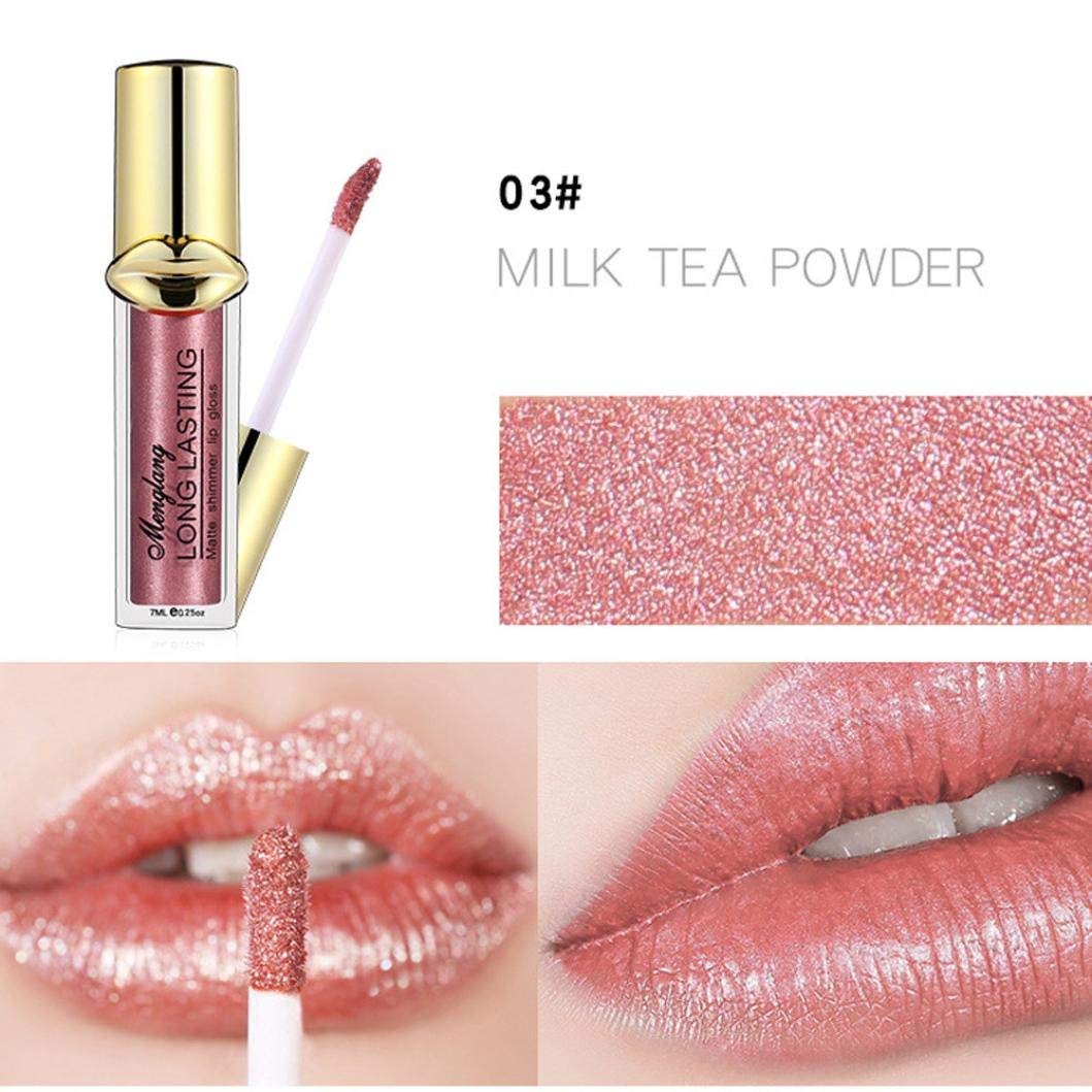 Eletty Sexy Highly Pigmented Lip Gloss 12 Colors Soft Velvet Matte Finish Liquid Lipstick Long-Wearing Kissproof For Dating & Party