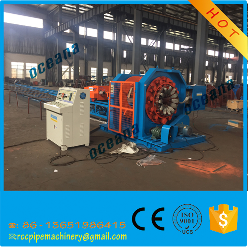 CNC pile cage welding machine prestressed concrete pole making machine