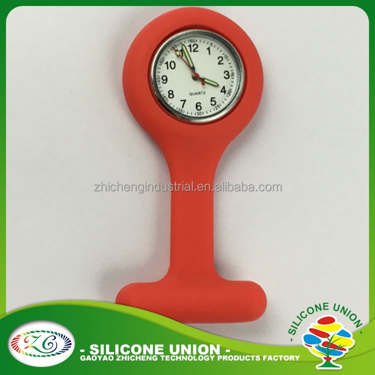 plain color New Style Wonderful Hot Sale Wholesale Silicone Watch Promotional Silicone Nurse Watch