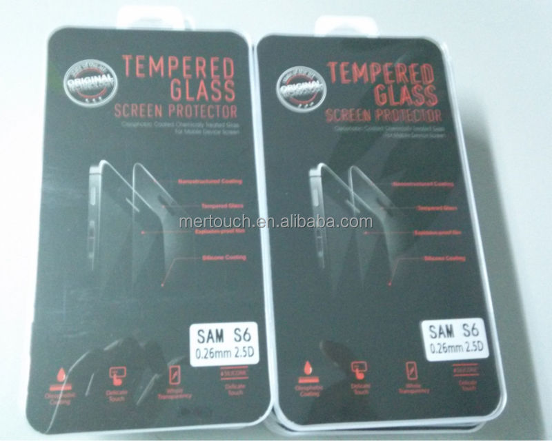 for Samsung S6 screen protector , for Samsung S6 tempered glass screen protector , for Samsung galaxy S6 tempered glass film