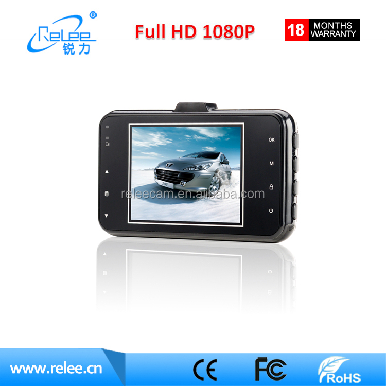 "3.0"" FHD car dvr car dash camera G-sensor car blackbox dvr camera"